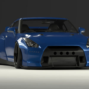 ROCKET BUNNY(ロケットバニー)  R35 GT-R <Duck tail ver.>