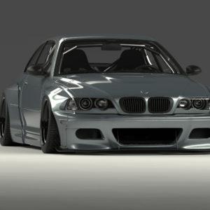 ROCKET BUNNY(ロケットバニー)  PANDEM BMW E46