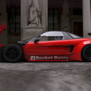 ROCKET BUNNY(ロケットバニー)  NSX