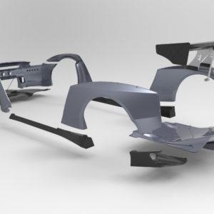 ROCKET BUNNY(ロケットバニー)  R35 GT-R <GT Wing ver.>